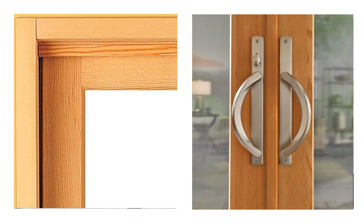 Milgard Essence Series Wood Doors