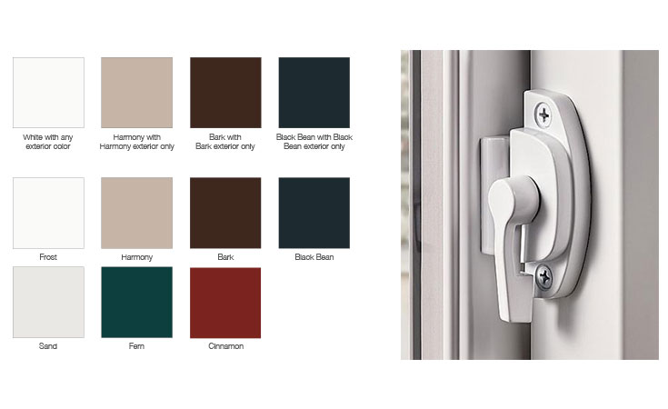 Milgard Ultra Series Fiberglass Windows colors